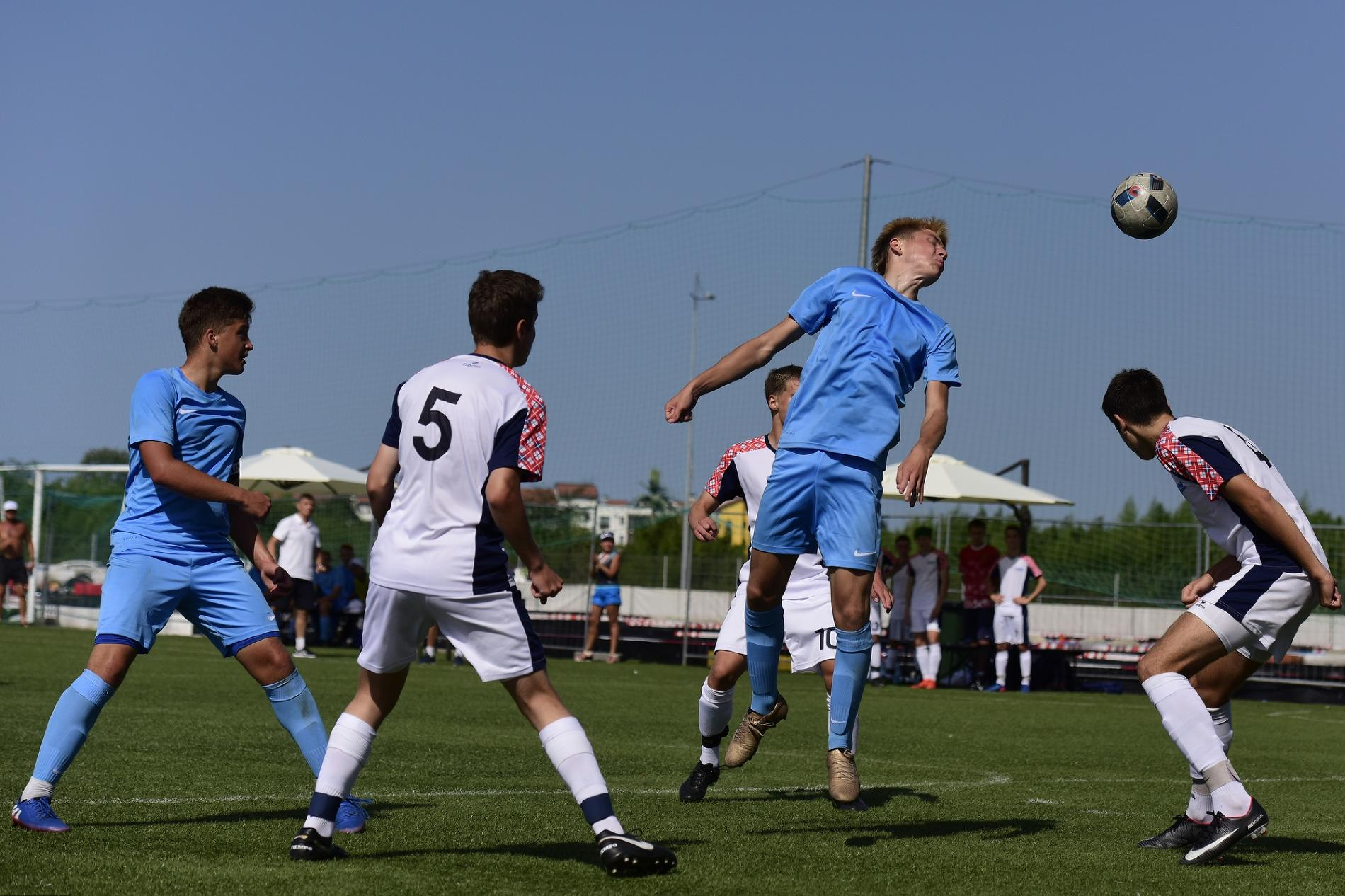 Детские соревнования по мини-футболу на Спартакиаде