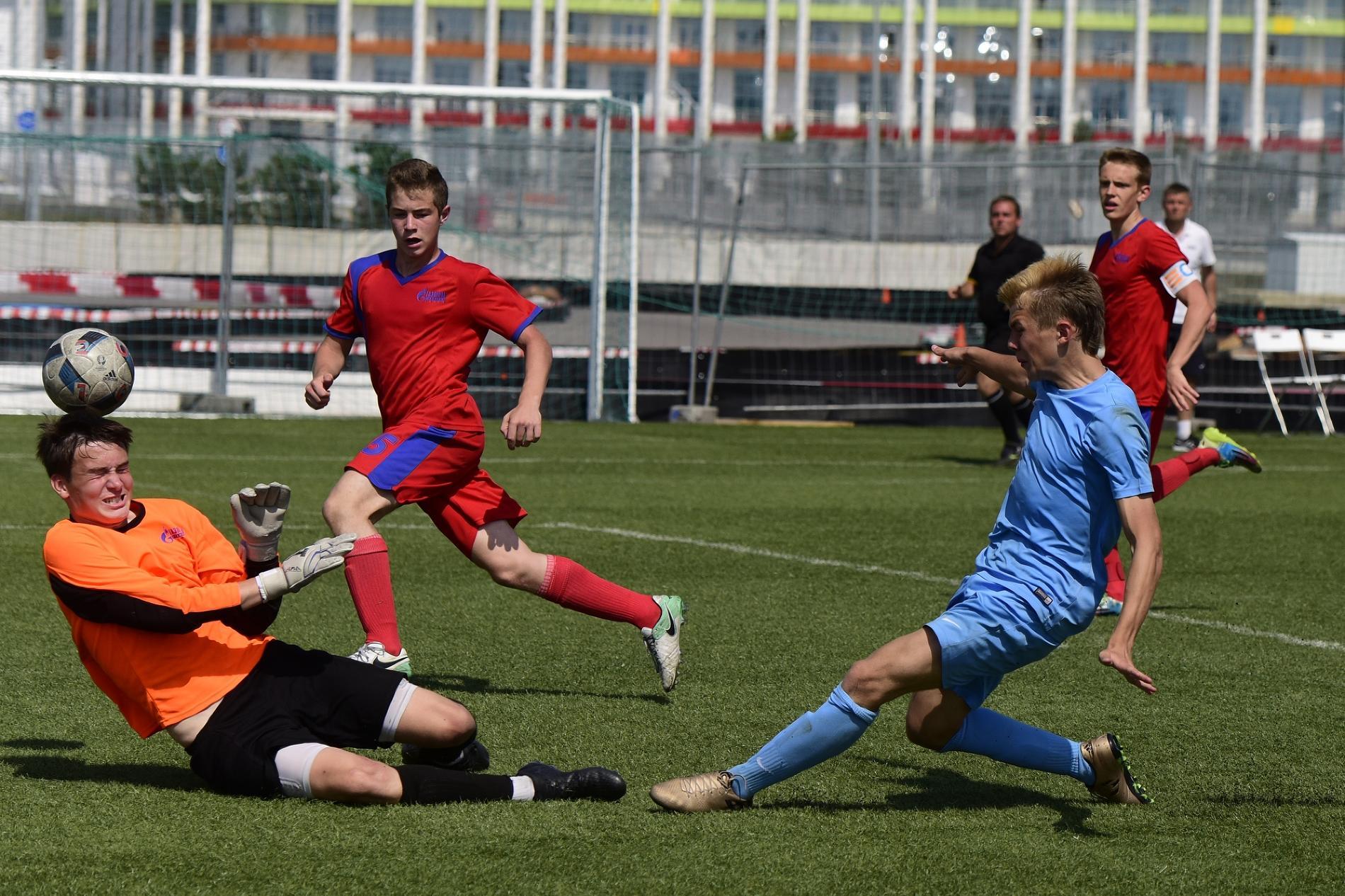 Финалы детского футбола на Спартакиаде