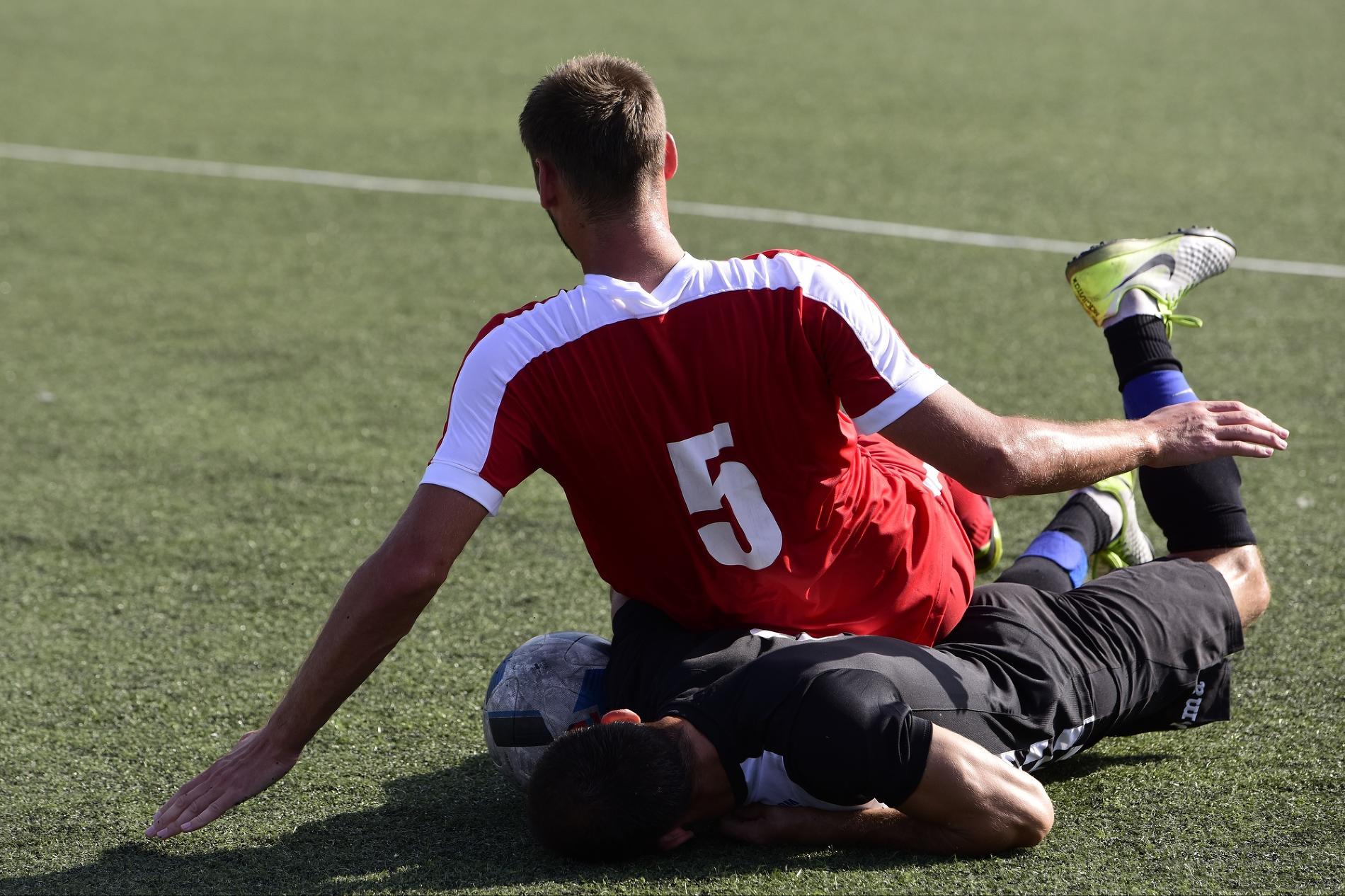 Футбольные матчи группового турнира среди мужчин ©Фото Елены Синеок, Юга.ру
