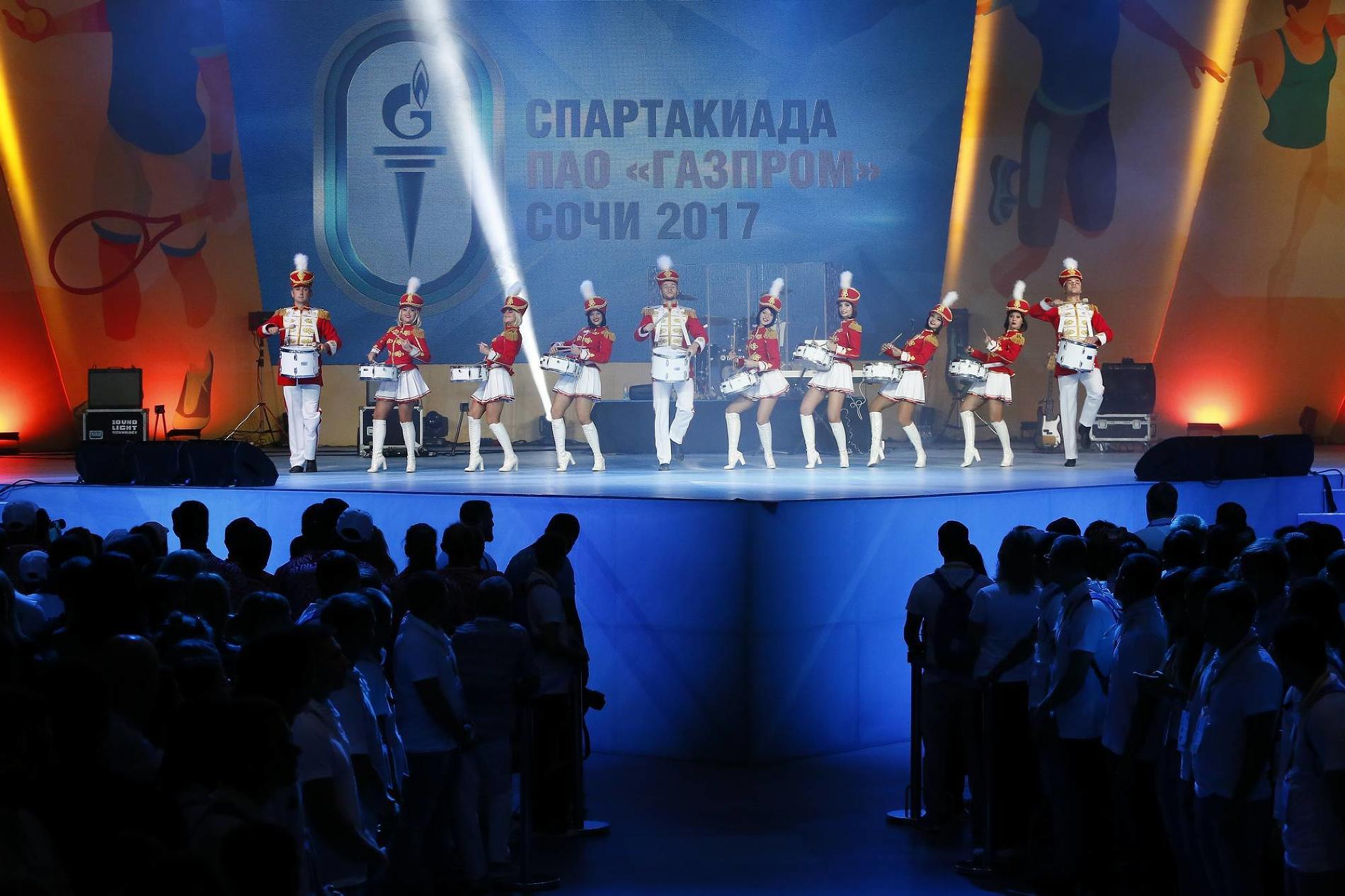 Закрытие Спартакиады ©Фото Николая Ильина
