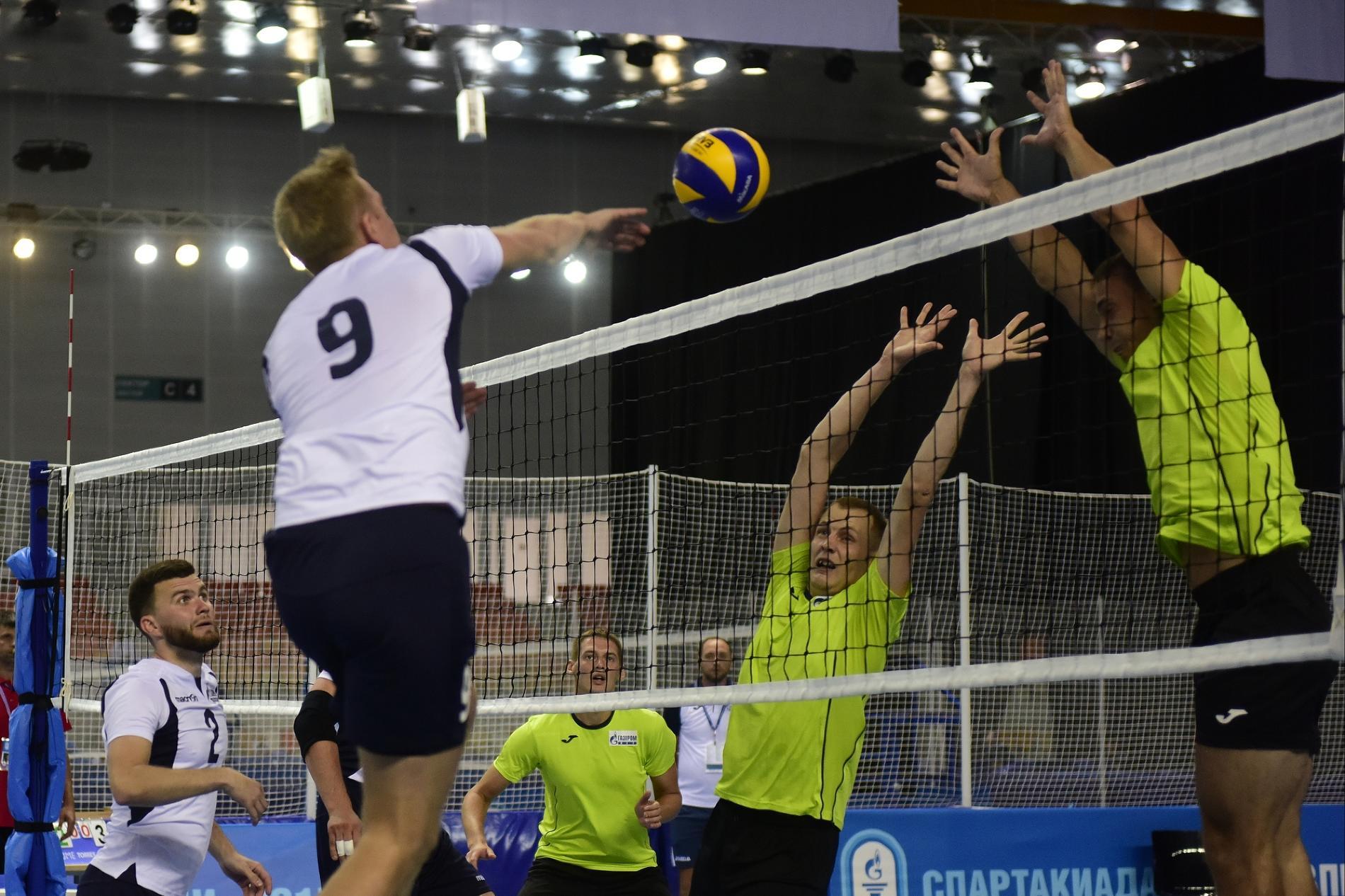 Волейбольные поединки на Спартакиаде «Газпрома»